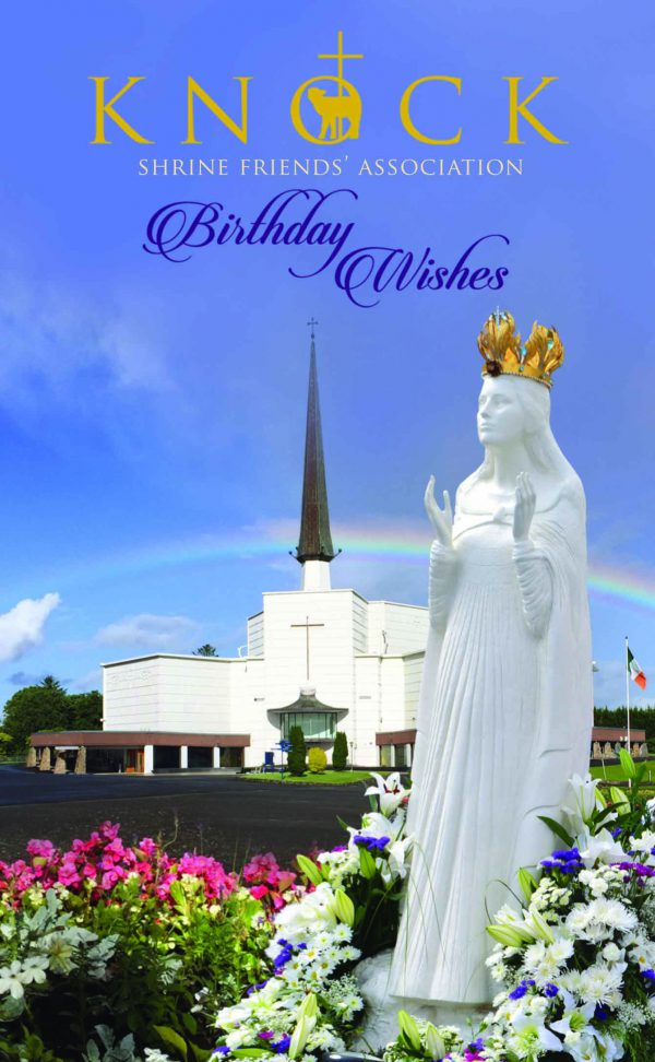 Birthday Card Knock Shrine