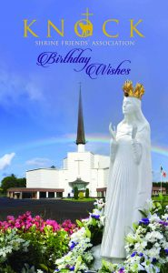 Birthday Card Knock Shrine