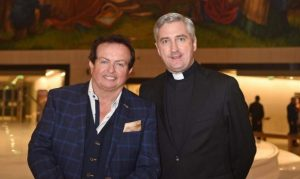 Marty Morrissey and Fr Richard Gibbons