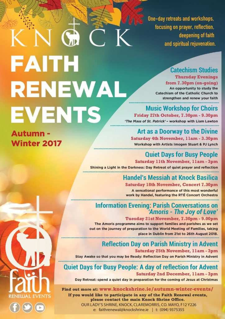 faith renewal poster