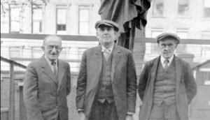 John Curry, Knock Witness in centre with Patrick Hill, New York