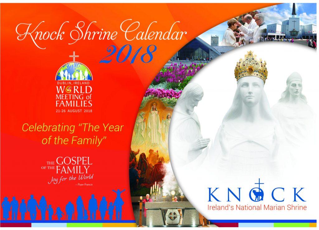 Knock Shrine Calendar 2018 Cover Image