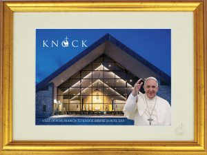 Framed Print of Pope Francis