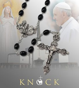 Pope Francis Black Rosary