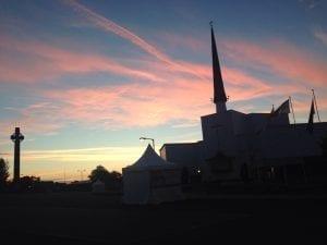 Knock Basilica at Dawn