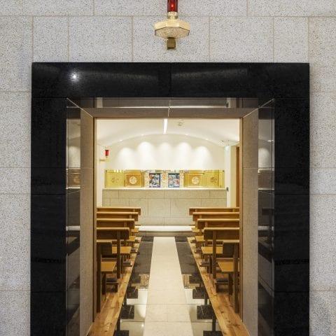 Tabernacle at Knock basilica