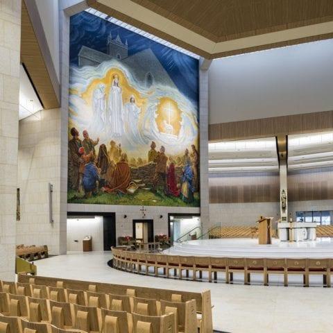 Apparition Mosaic Knock basilica